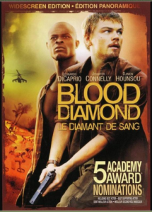 Affiche du film les diamants de sang