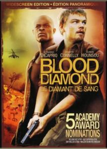 Affiche du film les diamants de sang